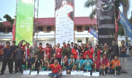 SMK PGRI 2 Ponorogo sukses gelar lomba Sterida Prusiking Competition 2019