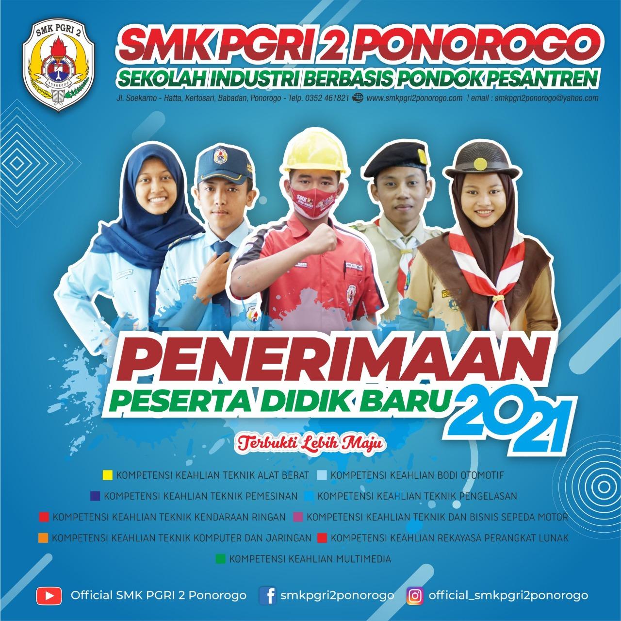 PPDB SMK PGRI 2 PONOROGO 2021
